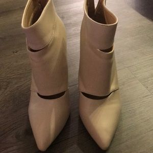 Shoes - New cream or natural color ankle boots